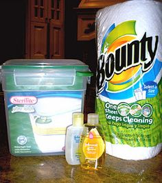 Home-Made Baby Wipes Tutorial.  Air-tight tupperware container  (I found the perfect size at Walmart, it's a Sterilite brand)  2 Cups water  2 Tablespoons baby wash  1 Tablespoon baby oil  Essential oil (optional)