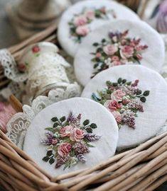 "2,574 Likes, 41 Comments - Britta Konsalik-Pistol (@britta_viking_angel) on Instagram: ""So beautiful .. ❤ . . . Handmade from Nadia Sinkevich . . . . . . #handmade #embroidery #romantic…"""