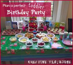 birthday party ideas, sensory play, and art activities-lots of great activities for kids!