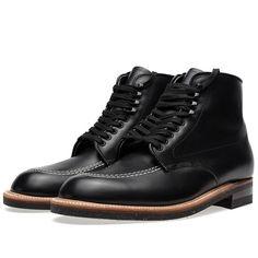 Alden Indy Boot (Black Calfskin)