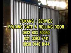 TUKANG SERVIS FOLDING GATE HARMONIKA PANGGILAN MURAH - 085101937411