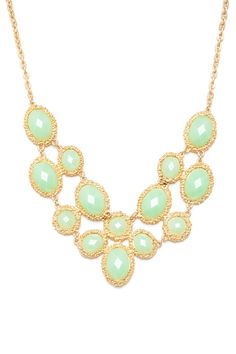 ShopSosie Style : Jahan Necklace in Mint
