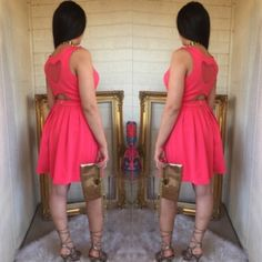 | Nanette Lepore | Open Back Valentine's Day Dress Gorgeous, flirty dress. Would look adorable on Valentine's day Nanette Lepore Dresses