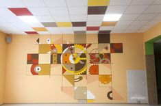 Гимназия-16__112 Marble Desktop Wallpaper, Wall Wallpaper, Kids Wall Murals, School Murals, Wall Paper Phone, Nursery Wall Stickers, Pause, Art Classroom, Cool Walls