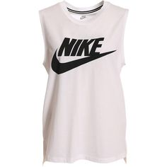 4a24f3eb30c49 Nike Signal Muscle Tank ( 39) ❤ liked on Polyvore featuring tops