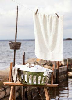 Toallas de bamboo y algodón de la firma sueca #Affari #estilonordico #baño #toallas