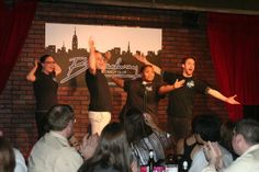 EIGHT IS NEVER ENOUGH performs LIVE from Times Square at the #Broadway #Comedy #Club Daily Dec 20-30. www.8improv.com