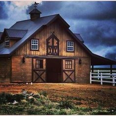Home on the range/ nice barn