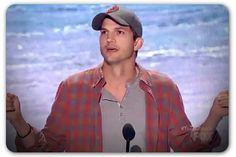I've never been an Ashton, I mean, Chris Kutcher fan but what a great speech! Good for him!