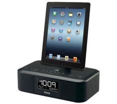 costco ihome ipad iphone lightning dual charging alarm clock radio albee 39 s pin pinterest. Black Bedroom Furniture Sets. Home Design Ideas