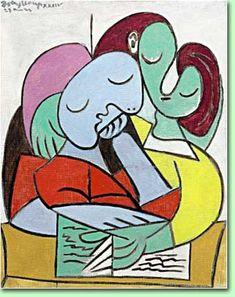 """Pablo Picasso """"Lezende vrouwen"""""""