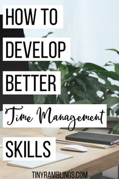 Learn how to develop time management skills to get more stuff done in less time By implementing these time management tips you will be more productive If you struggle wit. Time Management Tools, Effective Time Management, Time Management Strategies, Stress Management, Planning School, Goal Planning, Lack Of Focus, Productivity Hacks, Productivity Management