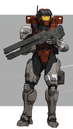 Armadura Do Halo, Armor Concept, Concept Art, Halo Armor, Halo Spartan Armor, Gundam, Character Art, Character Design, Halo Series