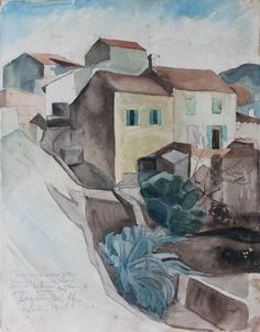 Angelina Beloff, Casitas, 1932