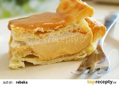 Karamelový větrník na plech recept - TopRecepty.cz Czech Recipes, Ethnic Recipes, Salty Snacks, Food Humor, Sweet Life, Vanilla Cake, Deserts, Food And Drink, Cooking Recipes
