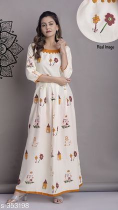 Checkout this latest Kurtis Product Name: *Magnificent Fancy Kurti* Sizes: M, L, XL, XXL Country of Origin: India Easy Returns Available In Case Of Any Issue   Catalog Rating: ★4.3 (4912)  Catalog Name: Sajda Ethnic Printed Kurtis Vol 4 CatalogID_37687 C74-SC1001 Code: 344-353198-3411