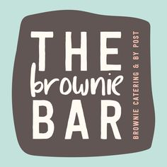 The Brownie Bar Catering logo by Miss Sammie Designs