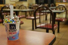 The Mystery of McDonald's McFlurry Spoon Has Been Revealed  - Delish.com