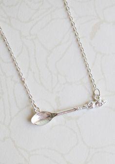 spoonful of sugar necklace.