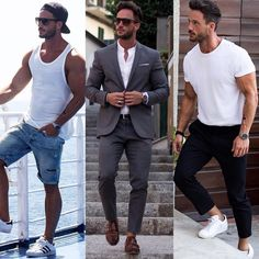 """""""What's your favorite Outfit?! 1⃣,2⃣,3⃣? Let me know ⬇️⬇️⬇️ #classy #or #casual"""""""