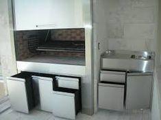 Resultado de imagen para parrillas interiores Parrilla Interior, Wall Oven, Kitchen Appliances, Google, Home, Interiors, Diy Kitchen Appliances, Home Appliances, Ad Home