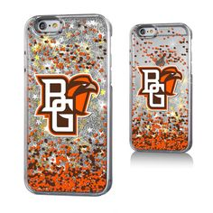 Bowling Green St. Falcons Gold Glitter iPhone 6 & 6s Case