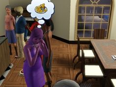 Or have daydreams about nachos. | The 29 Weirdest Things Ever To Happen When Playing The Sims