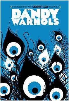Dandy Warhols by Fabienne Delsol