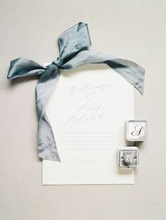 Hand-calligraphed wedding invitation: http://www.stylemepretty.com/2016/09/25/handwritten-notes-served-as-escort-cards-for-their-300-guests/ Photography: Michelle Lange - http://www.loveandbemarried.com/