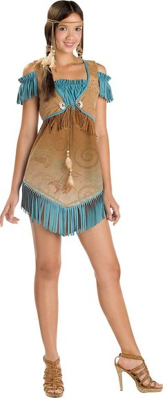 Love this costume i want this!!!                                 Teen Girls Cheeky Cherokee Costume - Teen Girls Costumes - Sale & Clearance - Halloween Costumes - Categories - Party City