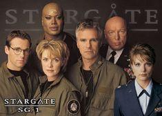 Stargate SG-1 Team.