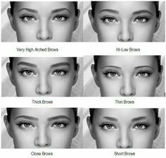 Im def thin brow. which i hate i always wanted thick brows. Im def thin brow. which i hate i alwa Fix Eyebrows, Types Of Eyebrows, How To Draw Eyebrows, Threading Eyebrows, Shape Eyebrows, Eye Brows, Eyebrow Shaper, Eyebrow Tinting, Eyebrow Pencil
