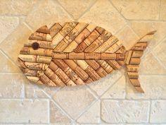 Wine Cork Fish- Large