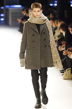 Hedi <wbr>Slimane(谢幕作品):DIOR <wbr>HOMME <wbr>2007秋冬巴黎时装周