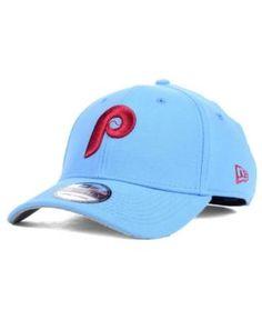 New Era Philadelphia Phillies Core Classic 39THIRTY Cap - Blue M/L