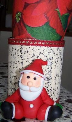 POrtaservilletas Papá Noel