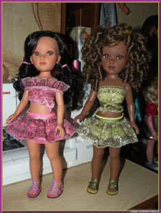 Наряжаем Маришек! Мари от Vidal Rojas / Другие испанские куклы / Бэйбики. Куклы фото. Одежда для кукол Crochet Barbie Clothes, Doll Clothes, American Girl, Harajuku, Vintage Dolls, Style, Fashion, How To Make Crafts, Vestidos