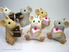 chocolate sculptures pictures | Chocolate Tan Mice