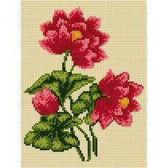 goblen ariadna Cross Stitch Art, Amazing Flowers, Diy And Crafts, Cross Stitch Embroidery, Herb, Tropical Wallpaper, Hardanger, Pattern, Embroidery