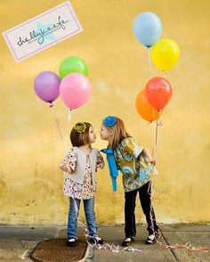 Be inspired: Balloons. Entire blog post of creative photography with balloons.