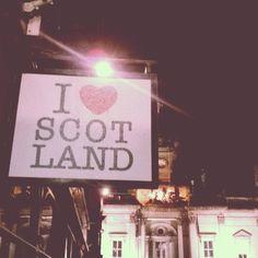Love Scotland.