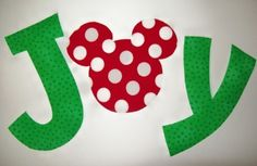 Fabric Applique TEMPLATE ONLY Mickey or Minnie Mouse by etsykim, $1.50