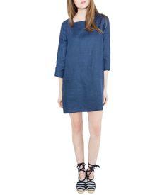 Ann Mashburn Square-Neck Minidress / AnnMashburn.com