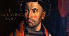 """St. Bonaventure (1221-1274), Cardinal, Bishop, and Doctor of the Church, known as """"The Seraphic Doctor""""."""