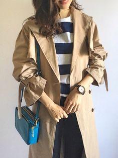 FOSSIL さんの レザーバッグ♡ ブルーの発色がキレイです 夏になったら、デニムと白T と