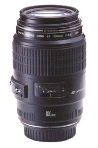 Canon 100mm F2.8 macro lens: Mainly used for ring shots