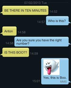 Hilarious Wrong Number Texts