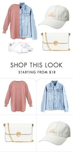 """cute"" by stylelitfit on Polyvore featuring Tory Burch, adidas and Puma"