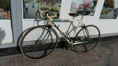For the USA market. A Diamond Back Interval. 1992 steel bike. In need of a lot of TLC