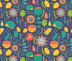 color sample melarmstrongdesign's shop on Spoonflower: fabric, wallpaper and gift wrap